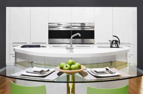 оформление стен на кухне: потолка, окон